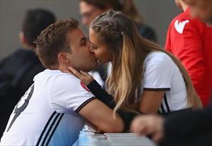 1001 kiểu nụ hôn tại Euro 2016