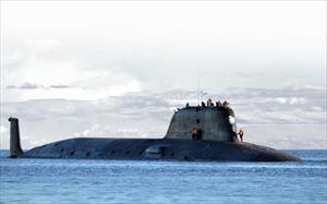 Tàu ngầm hạt nhân Nga bắn thành công tên lửa hành trình