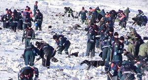 Tìm thấy gần 1.500 mảnh thi thể nạn nhân máy bay Nga rơi