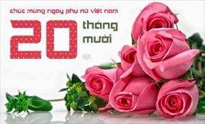 HĐH Hải Phòng chúc mừng ngày phụ nữ Việt Nam 20-10
