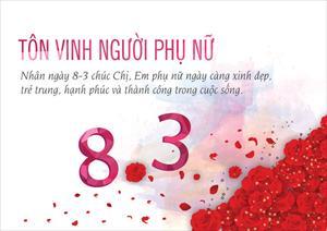 HĐH Thanh Hóa chúc mừng ngày Quốc tế Phụ nữ 8/3