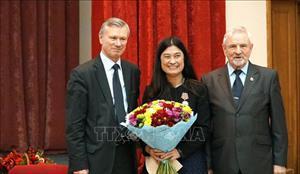 Ông V.Buianov giữ chức Chủ tịch Hội Hữu nghị Nga - Việt nhiệm kỳ 2018 - 2023