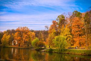 Bộ ảnh số 3: Mùa thu trong công viên tình yêu Tsaritsyno