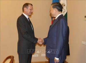 Việt Nam tham dự Hội nghị lãnh đạo phụ trách an ninh tại Nga