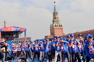 Nước Nga lập kỷ lục Guinness thế giới mới nhân kỷ niệm Ngày Quyền anh Nga 22/7