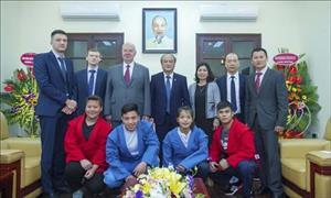 Hợp tác với Liên bang Nga phát triển môn Sambo