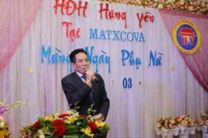 Tin ảnh: HĐH Hưng Yên tại Mátxcơva tổ chức kỷ niệm ngày 8/3