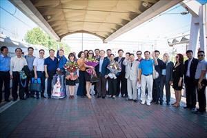Tin ảnh về chuyến thăm LB Nga của đoàn ĐB lãnh đạo tỉnh Hưng Yên