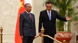 TT Mahathir hủy dự án của TQ, chỉ trích người tiền nhiệm