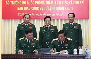 Triển khai quyết định điều động, bổ nhiệm nhân sự cao cấp của Quân đội
