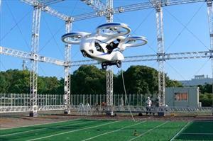 Nhật Bản chế tạo và thử nghiệm thành công xe bay