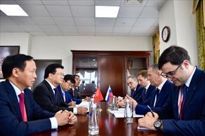 Phó Thủ tướng Trịnh Đình Dũng đề nghị Nga tạo thuận lợi về xuất nhập cảnh cho công dân Việt