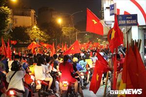 Hà Nội cấm ô tô tại 20 tuyến đường trong trận chung kết AFF Cup 2018