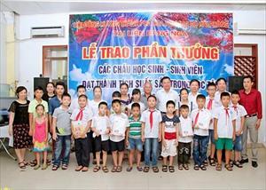 HĐH Hải Phòng: Lễ trao phần thưởng cho các cháu có thành tích học tập xuất sắc trong năm học 2015-2016