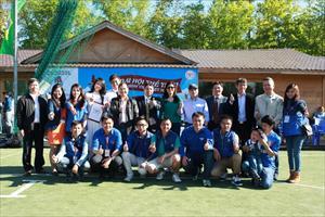 Lễ bế mạc Đại hội thể thao sinh viên Việt nam lần II tại Mátxcơva hè 2014