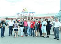 """Ảnh, video: Đoàn nghệ sĩ  """"Tôi yêu Việt Nam 2013"""" tại Mátxcơva- ngày thứ nhất"""