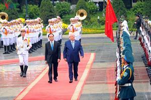 Tổng thống Israel thăm chính thức Việt Nam