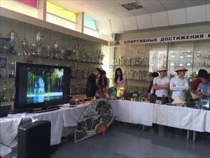 Sinh viên Việt Nam tham dự festival văn hóa tại Krasnodar ngày 16/4/2015