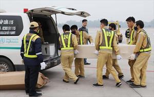 Vụ 39 người chết trong container: 23 thi thể còn lại được đưa về nước