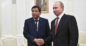 Vì sao Nga dang rộng vòng tay với Philippines?