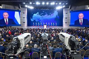 Tổng thống Nga: Cuộc sống người dân cần được cải thiện ngay trong năm 2019