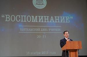 Long trọng kỷ niệm ngày Nhà giáo Việt Nam tại Liên Bang Nga