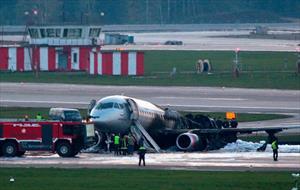 Cháy máy bay tại Nga: Không có nạn nhân người Việt, 41 người thiệt mạng