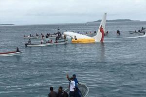 Có 4 công dân Việt Nam trong vụ máy bay lao thẳng xuống biển tại Micronesia