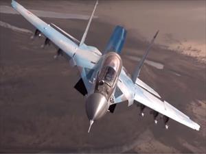 """Video Nga """"nhá hàng"""" tiêm kích mới nhất MiG-35"""