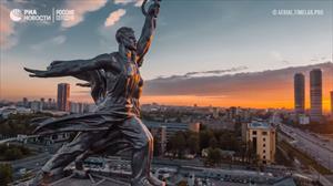 Thủ đô Moskva tuyệt đẹp qua những góc nhìn độc đáo từ trên cao