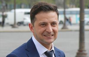 Tỉ lệ dân Ukraine ủng hộ ông Zelensky làm tổng thống tăng áp đảo