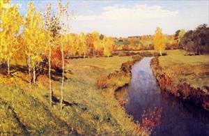 Mùa thu vàng nước Nga qua những kiệt tác của Levitan vĩ đại