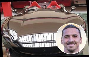 Mừng sinh nhật tuổi 38 Ibrahimovic tậu siêu xe triệu đô