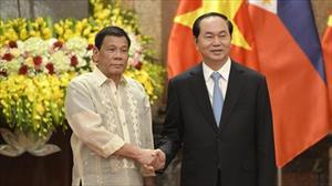 Việt Nam, Philippines cam kết thúc đẩy an ninh Biển Đông