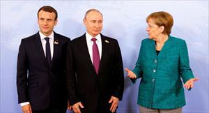 Lãnh đạo Nga, Pháp, Đức điện đàm, thảo luận nhiều vấn đề nóng