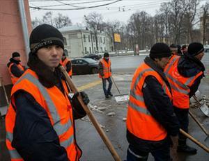 Người Nga trở nên khoan dung hơn đối với lao động di cư