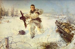 Người lính Liên Xô nào lấy thân mình chặn súng máy Đức quốc xã?