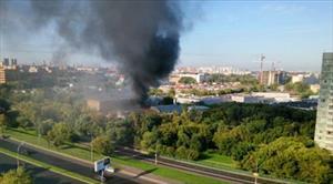 Cháy lớn giữa thủ đô Nga, 17 người chết