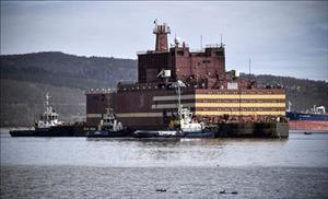 Nhà máy điện hạt nhân nổi đầu tiên trên thế giới của Nga kết thúc hành trình 5.000 km