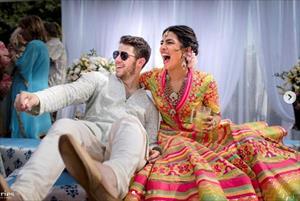 Loạt ảnh đẹp như tranh tại đám cưới của Nick Jonas và hoa hậu thế giới