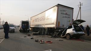 Vụ tai nạn thương tâm ở Samara
