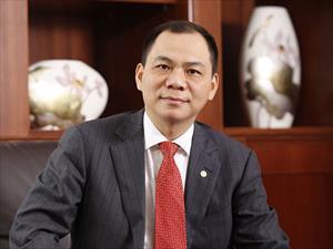 Ông Phạm Nhật Vượng sắp vào top 300 người giàu nhất thế giới