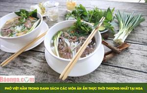 Phở Việt nằm trong danh sách các món ăn ẩm thực thời thượng nhất tại Nga