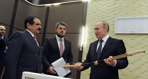 Tổng thống Putin được tặng gươm báu