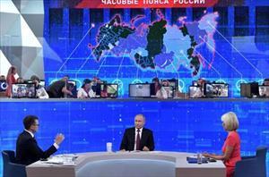 Những vấn đề nổi bật trong Đối thoại thường niên của Tổng thống Putin