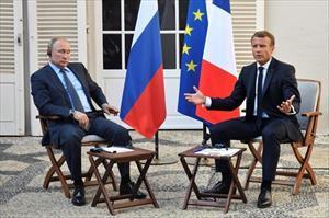 Tổng thống Nga và Tổng thống Pháp điện đàm về tình hình Ukraine