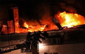 Moskva: Cháy kho hàng, 8 lính cứu hỏa thiệt mạng