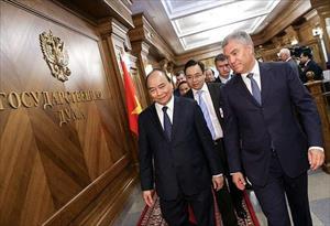 Ông Volodin đề xuất ưu tiên thảo luận về việc bãi bỏ thị thực với Việt Nam