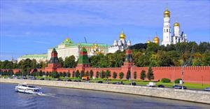 Trải nghiệm du thuyền trên sông Moskva