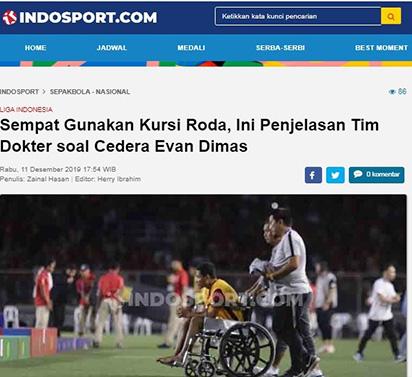 """Đã rõ mức độ chấn thương của """"Messi Indo"""" sau pha va chạm với Đoàn Văn Hậu"""